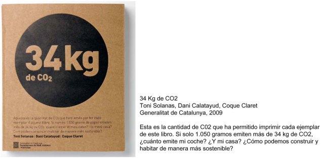 34kg de CO2